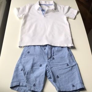 Gymboree shirt and shirt
